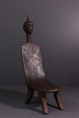 Tribal art - Bena Lulua Prestigious Seat