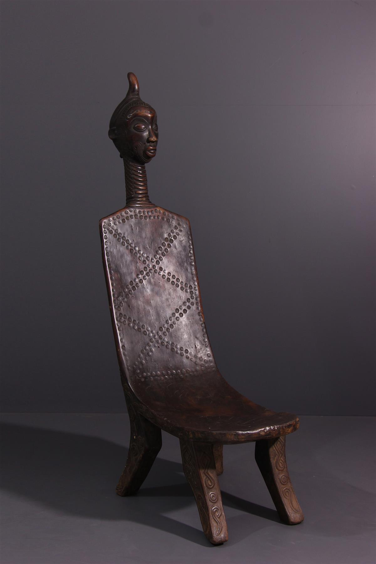 Luluwa chair - Tribal art