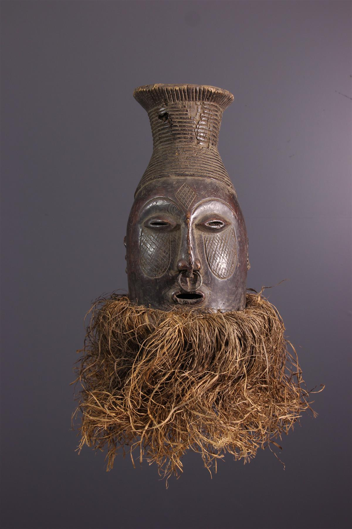 Mangbetu Mask - Tribal art