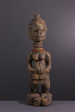 Tribal art - Temne Sierra Leone Womens Statue