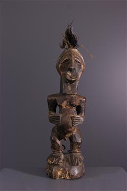 Tribal art - Songye Nkisi fetish statuette