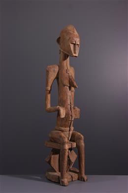 Tribal art - Female figure Senoufo Katyelo