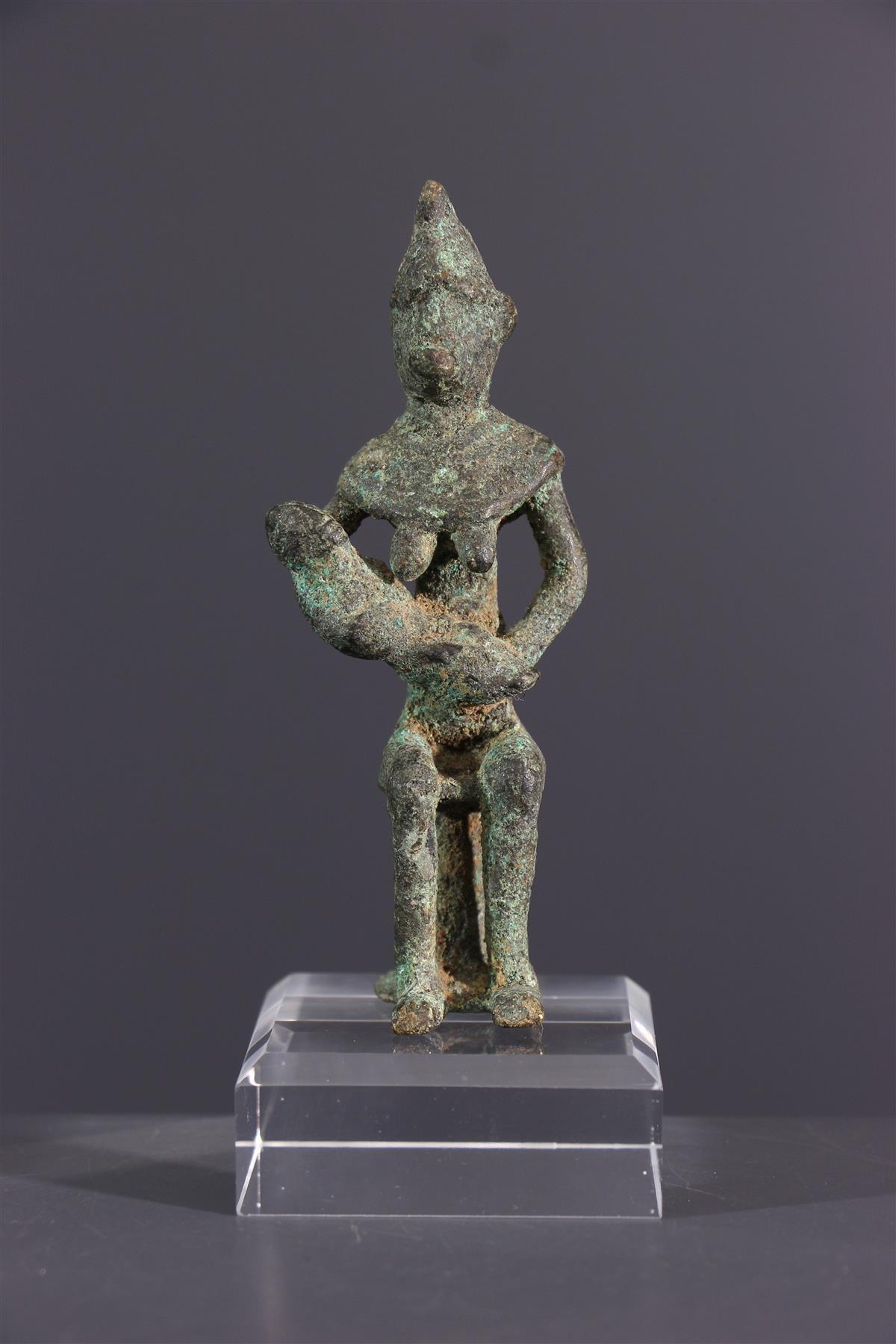 Gan bronze  - Tribal art