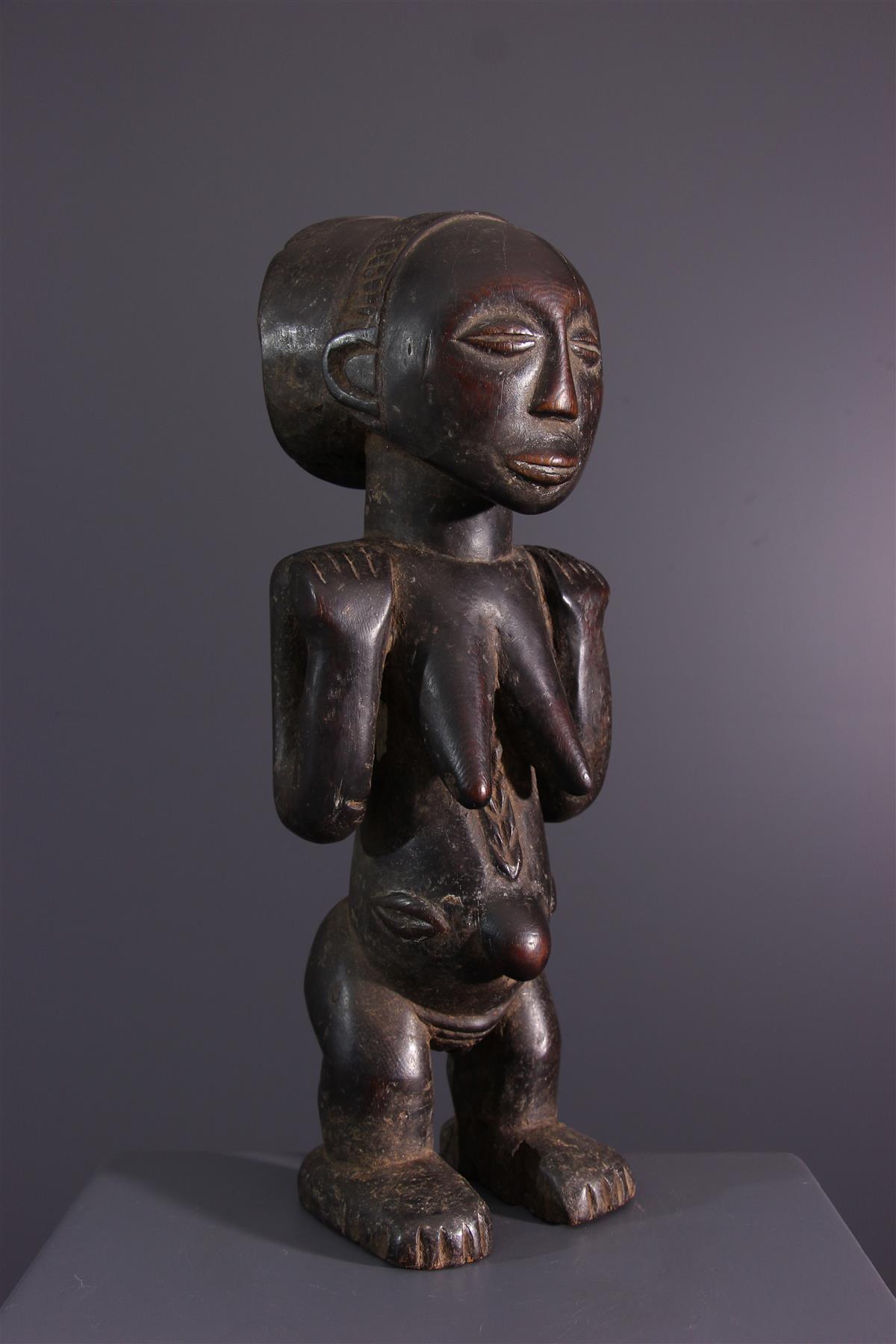 Luba figure - Tribal art