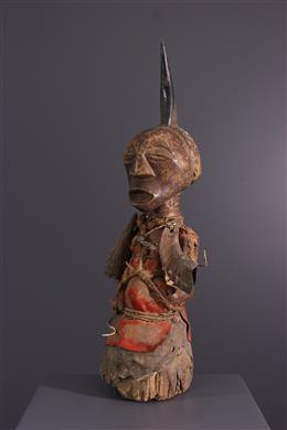 Songye Nkisi fetish statue