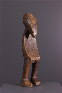 Lega initiation statuette of the Bwami