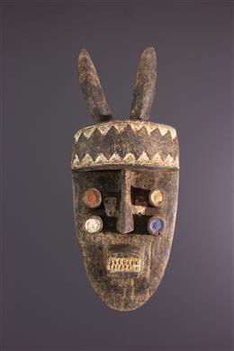 Tribal art -  Grebo Kru mask