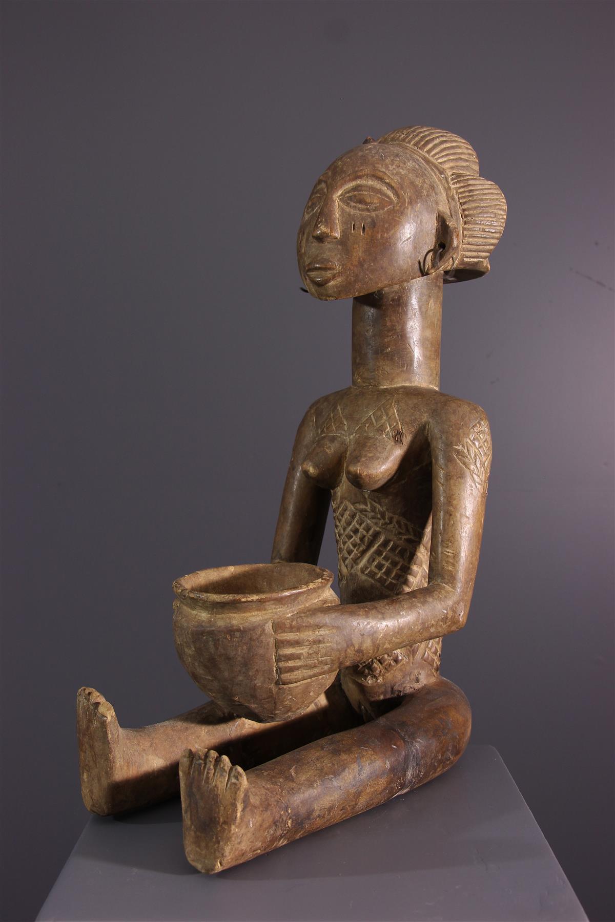 Statue Luba - Tribal art