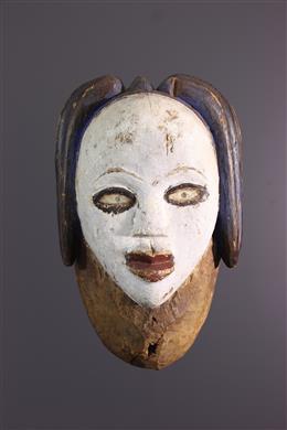 Tribal art - Mask Lumbu, Loumbo, Mbumba