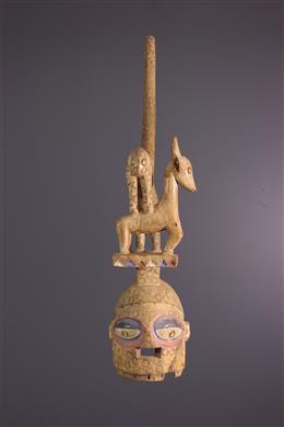 Tribal art - Masque Yoruba Ekiti Epa
