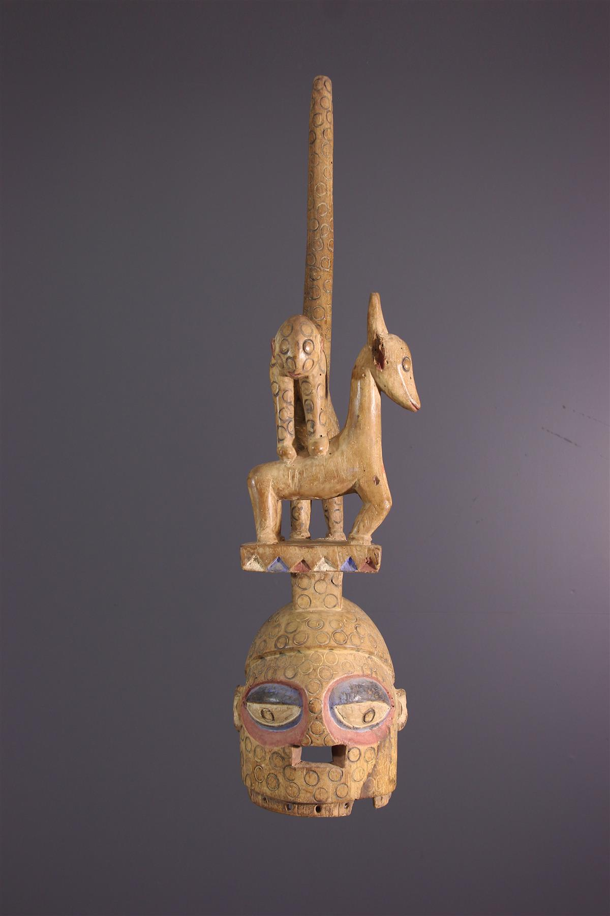 Masque Ekiti - Tribal art