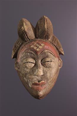 Tribal art - Punu Mask