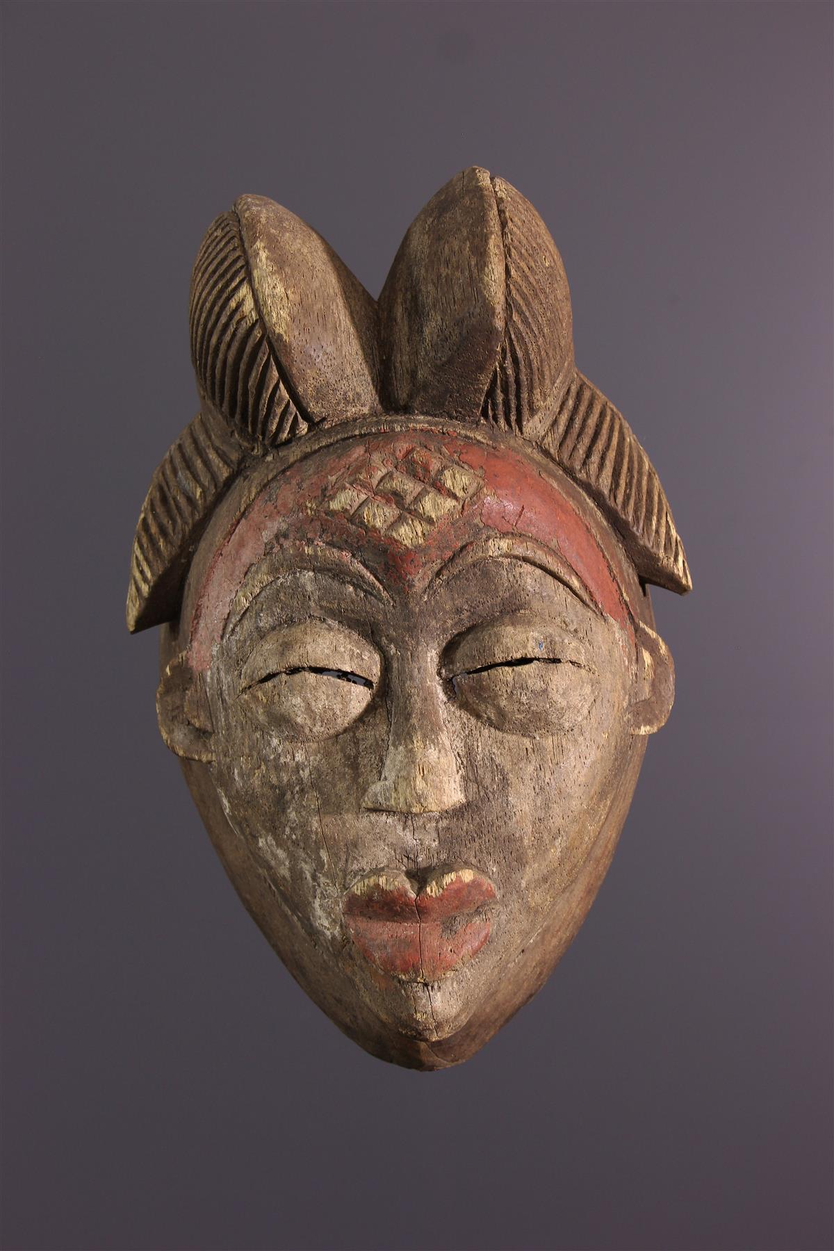 Punu Mask - Tribal art