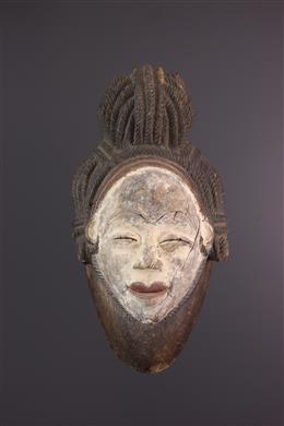 Tribal art - Okuyi Dance Punu Mask