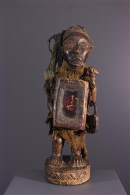 Fetish statue Nkisi Vili