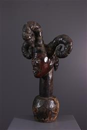 Masque africainCrest Ekoi