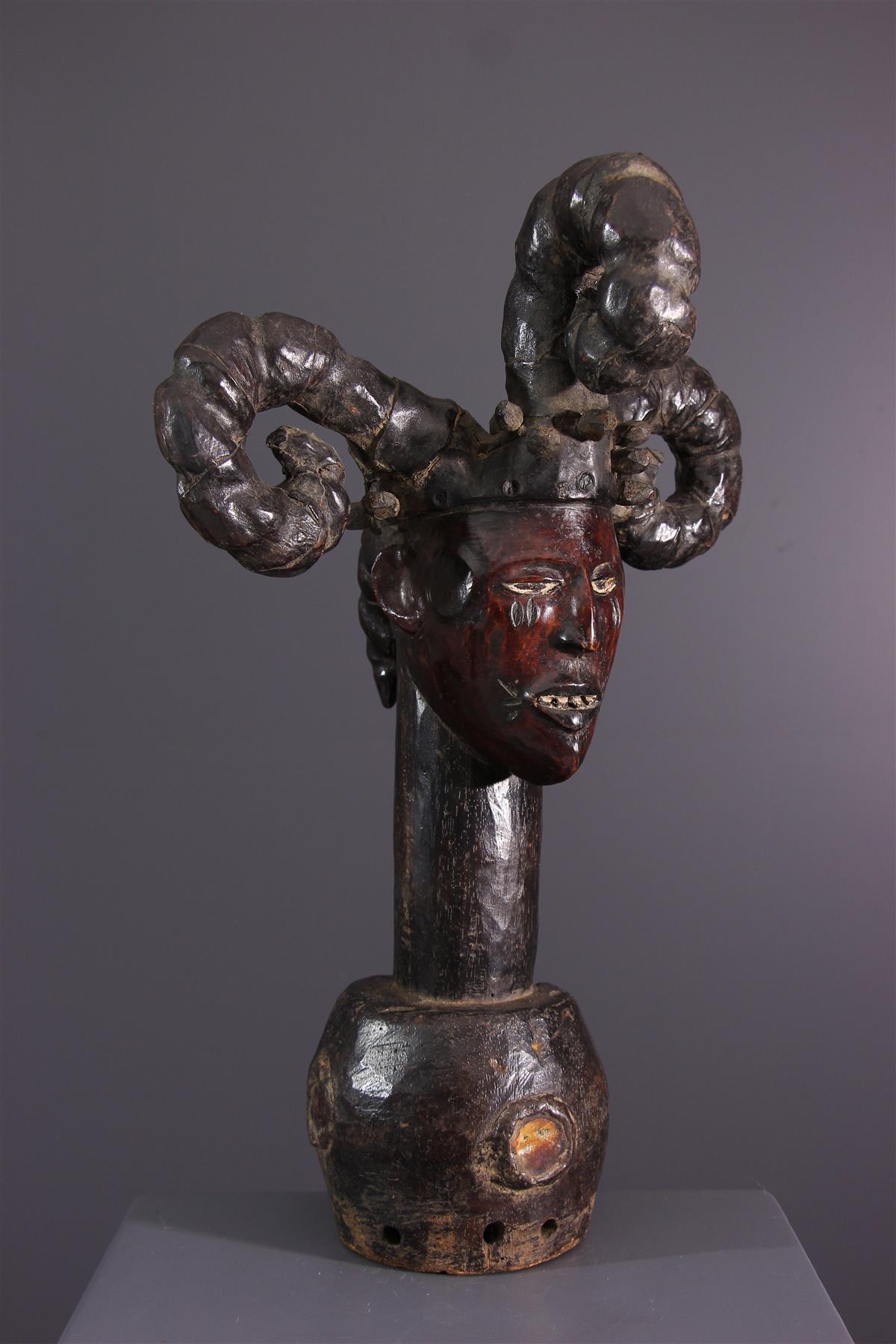 Crest Ekoi - Tribal art