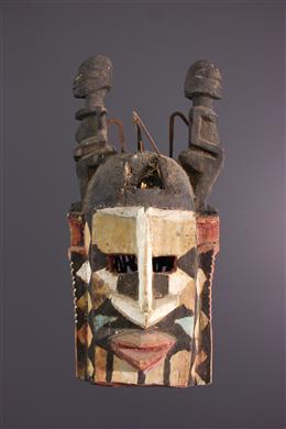 Tribal art - Dogon Dyodyonune Mask