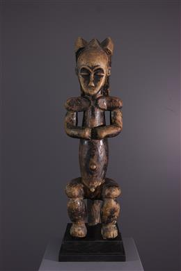 Tribal art - Figure of guardian ancestor of Fang reliquary