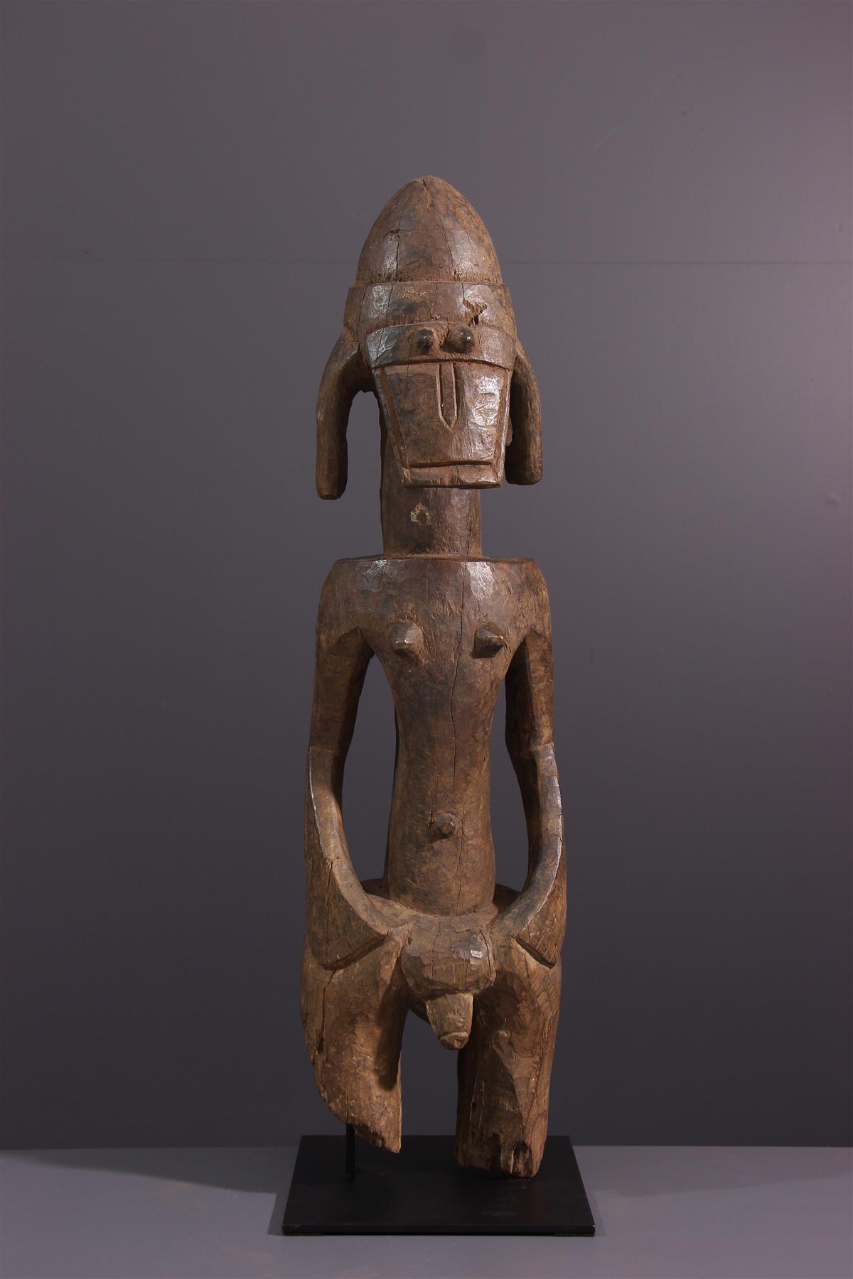 Statue Jukun - Tribal art