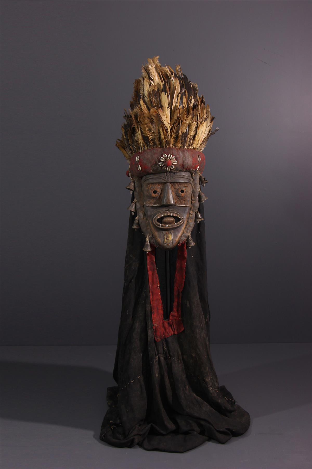Toma mask - Tribal art