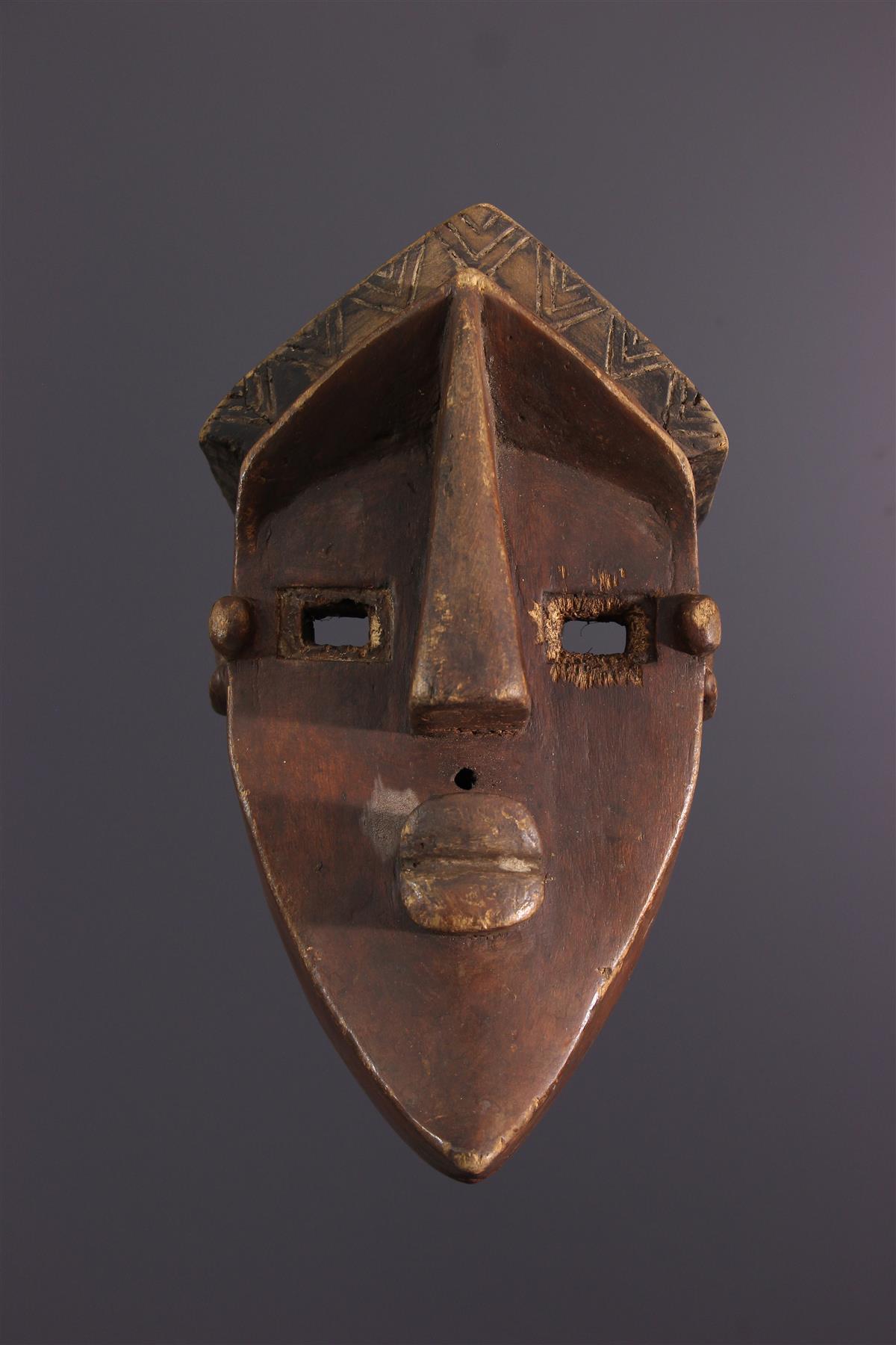 Lwalwa Mask - Tribal art