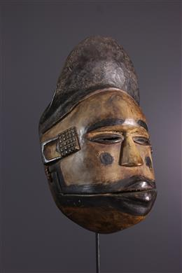 Ogoni Elu Mask, Ekpo, articulated jaw
