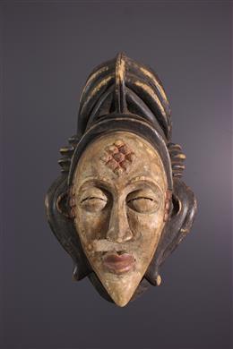 Tribal art - Punu Okuyi Mask