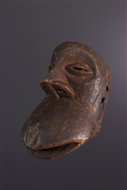 Tribal art - Masque Hemba Market Muntu