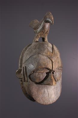 Large Ogoni Kapkap Mask