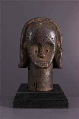 Tribal art - Fang of the Byeri Reliquary Head