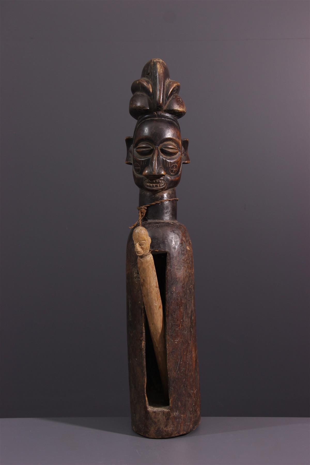 Yaka Drum - Tribal art
