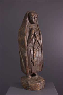 Figure of virgin Kongo