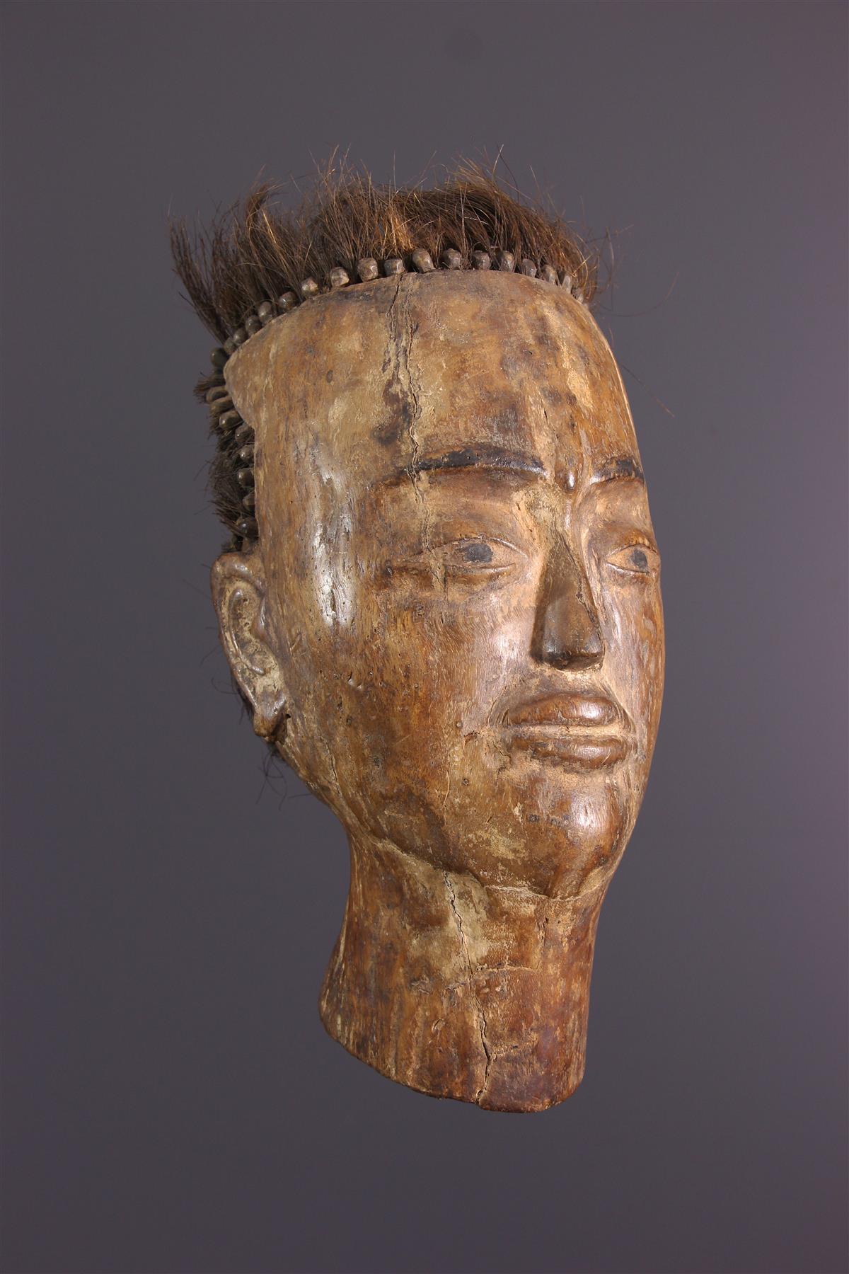 Batak Head - Tribal art