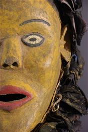 Masque africainChewa mask