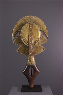 Figure of reliquary Kota Mbulu ngula