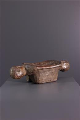 Tribal art - Headrest Tumbwe