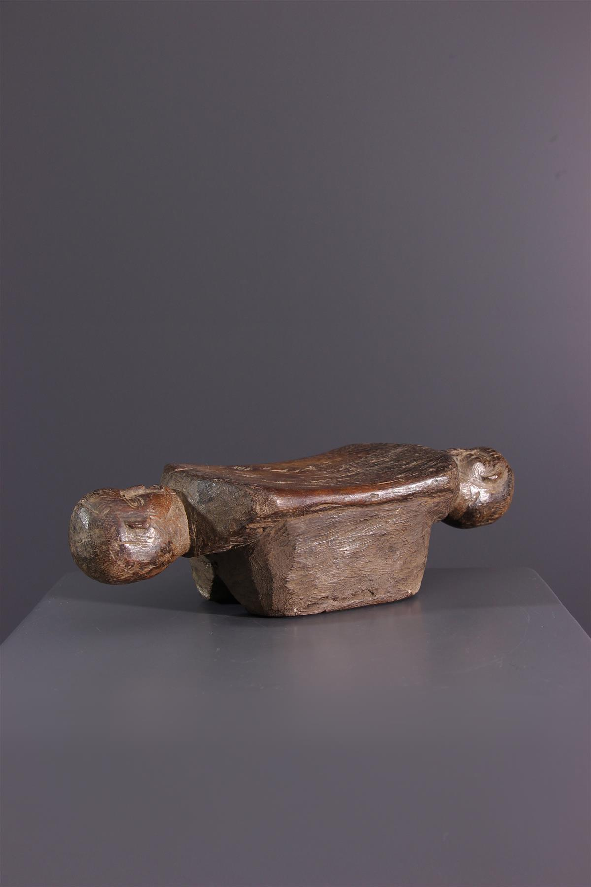 Headrest Tumbwe - Tribal art