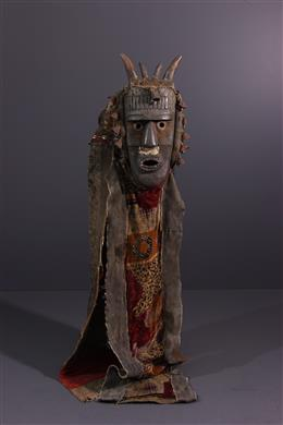 Tribal art - Toma mask and its costume