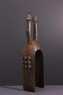 Tribal art - Mumuye Sukuru Vertical Mask