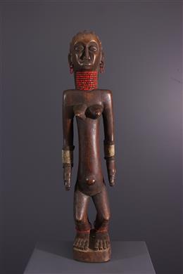 Tribal art - Female figure OviMbundu Nyaneka