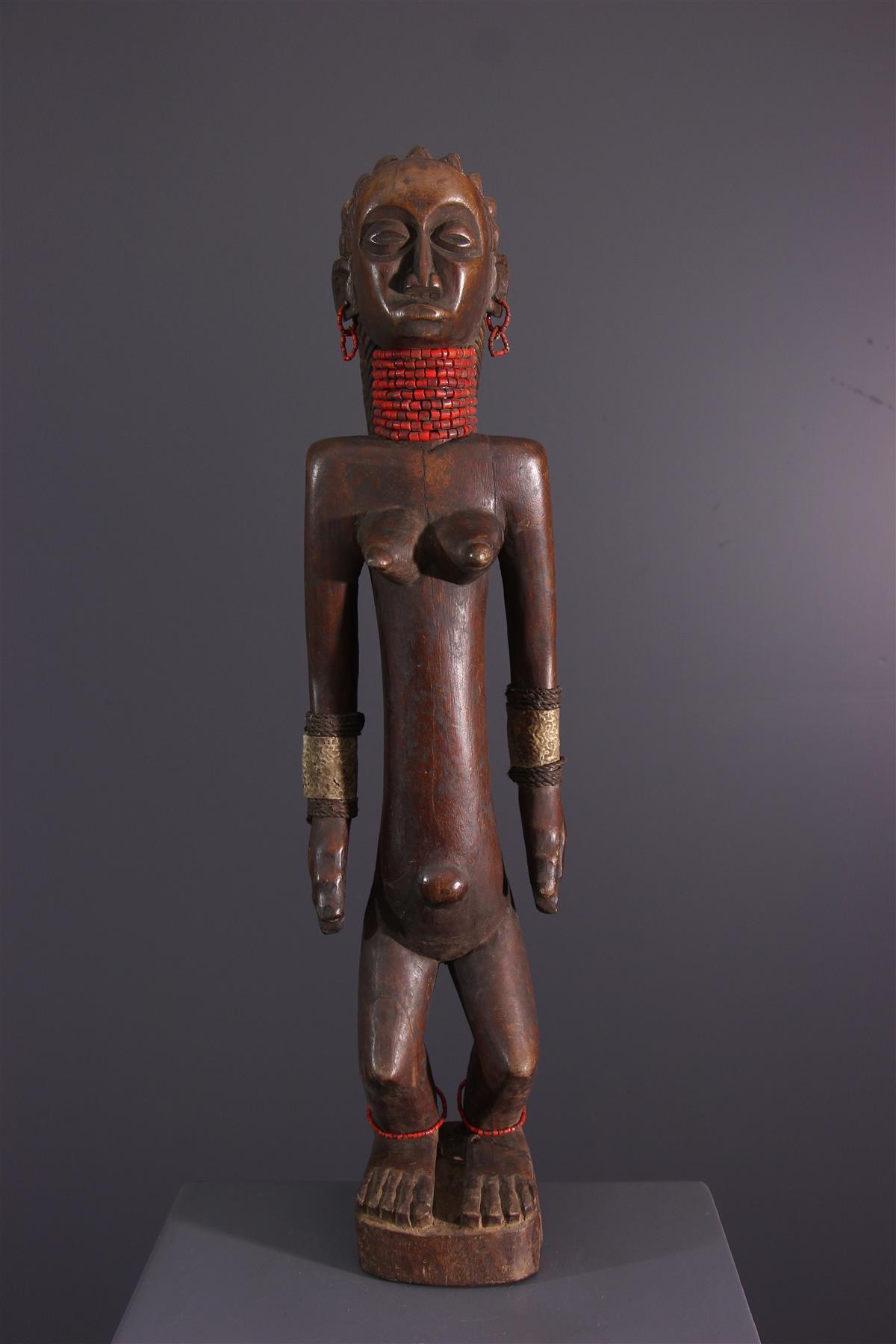 Statue OviMbundu - Tribal art