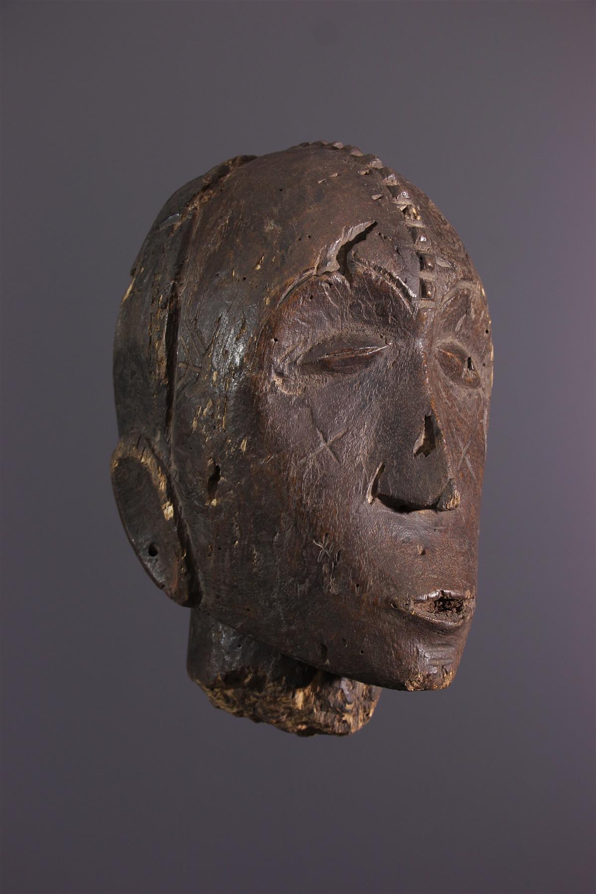 Head Ngbandi - Tribal art
