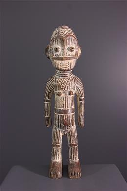 Tribal art - Metoko Kakungu female figure
