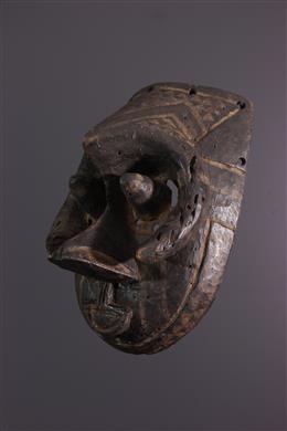Tribal art - Kuba Ngeende Isheen imalu mask
