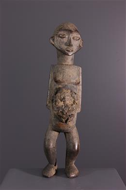 Kongo Sundi fetish statuette