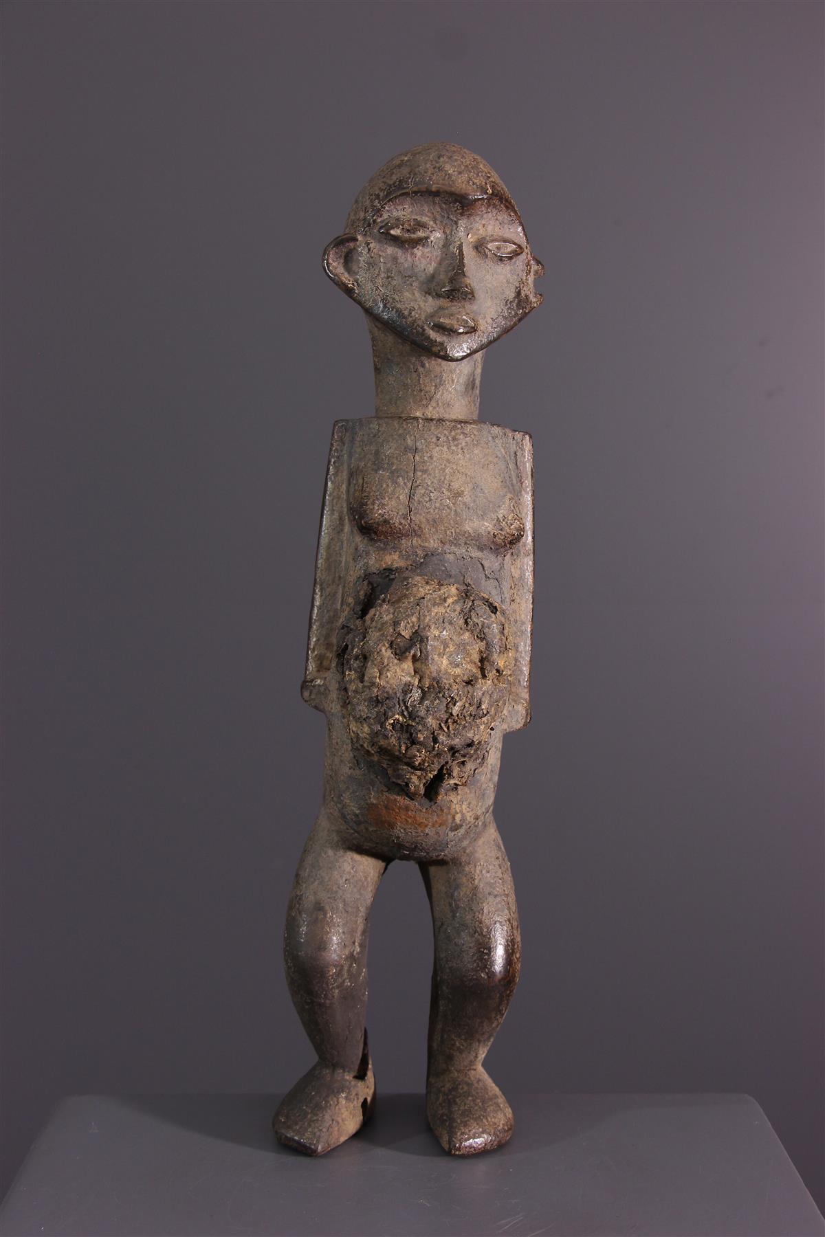 Statuette Nsundi - Tribal art