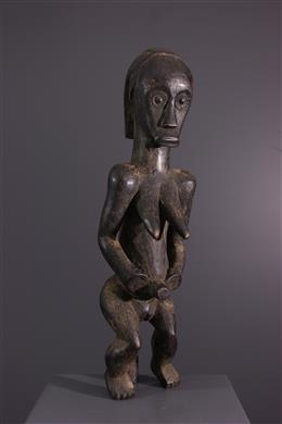 Tribal art - Figure of reliquary keeper of the Byeri Fang