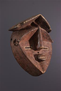 Tribal art - Lwalwa Mvondo Mask
