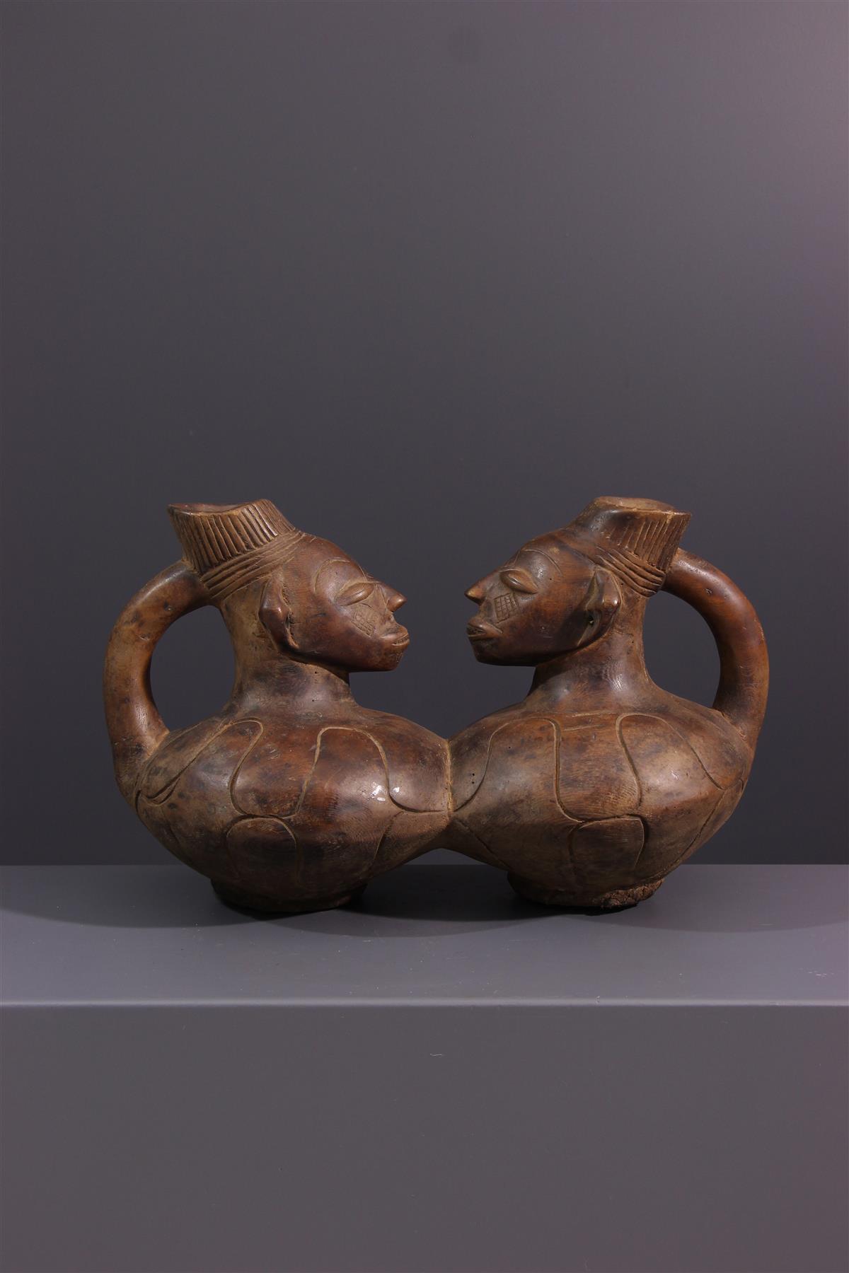 Jarre Mangbetu - Tribal art